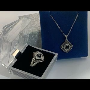 Jewelry - 925 Necklace & Ring Set